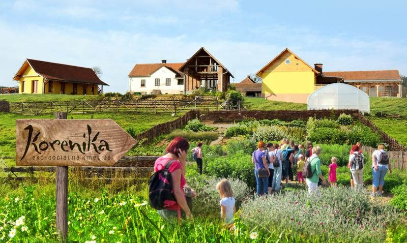 Ekosocialna kmetija Korenika