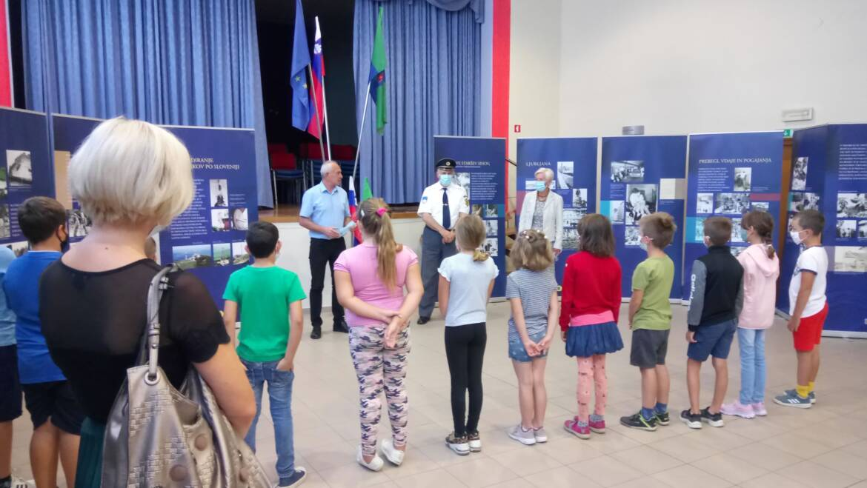 Otvoritev razstave o osamosvojitveni vojni