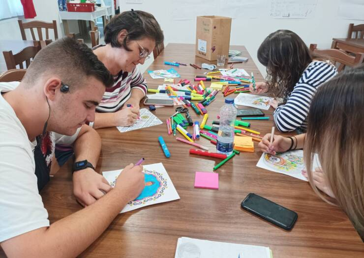 Zaključena izmenjava Erasmus+ v TNC Peterloug
