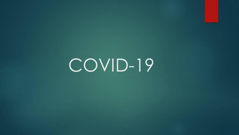 COVID-19: obvestila, obrazci